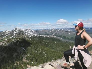 Near the top of Mt. Washburn
