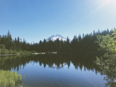 Mt. Hood from Mirror Lake