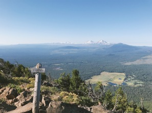 Top of Black Butte