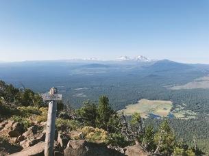 Top of Black Butte